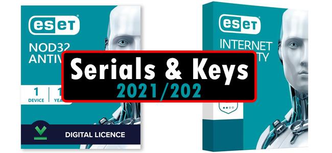 NOD32 ESET Internet Security Keys